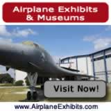 Airplane exhibits, museums, and air parks ... maps, photographs, reviews, and more ... visit there now!
