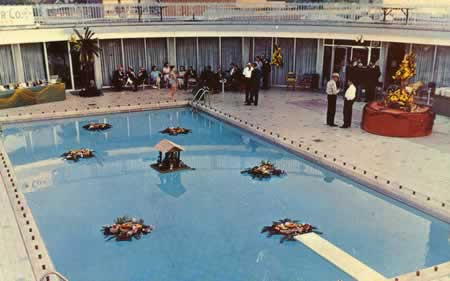Carlton Hotel Pool Circa 1950s Tyler Texas