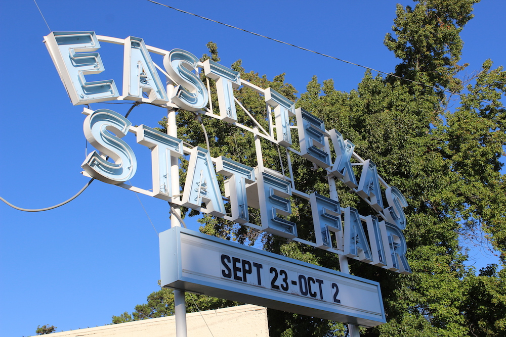 East Texas State Fair Sign