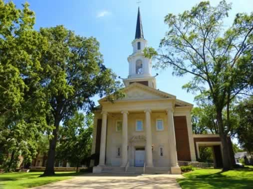 Photo Gallery Of Downtown Tyler Texas Historic Churches