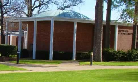 Tyler Texas Planetarium at the Tyler Junior College (TJC