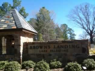 Brown's Landing on Lake Palestine