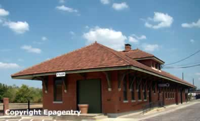 Tyler Texas Train Station and Museum