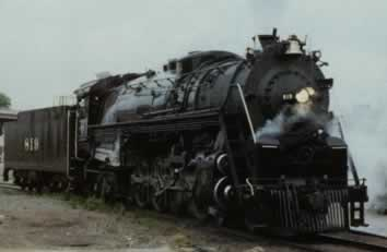 St Louis Southwestern 819 4 8 4 Steam Locomotive Of The