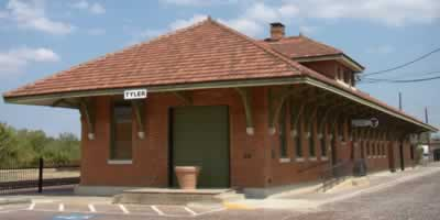 The Cotton Belt Depot Museum, 210 East Oakwood Street, Tyler, Texas