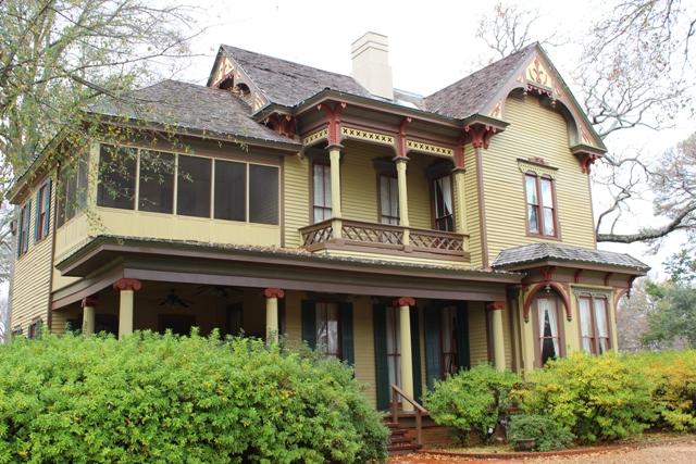 The Bonner-Whitaker-McClendon House, built in 1878, designated a Tyler Historic Landmark in 1984