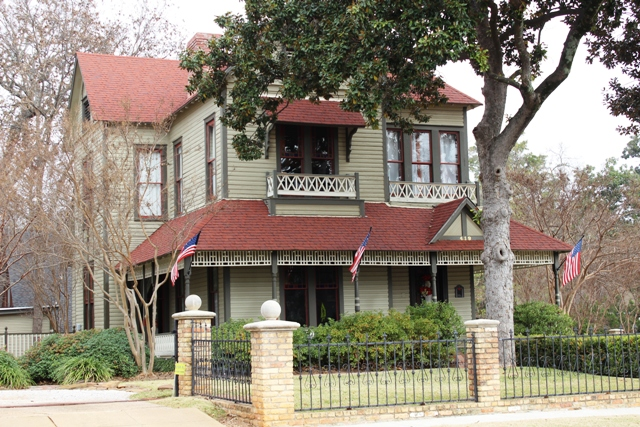 The Smith - Butler House, circa 1890 ... 419 West Houston, Tyler, Texas
