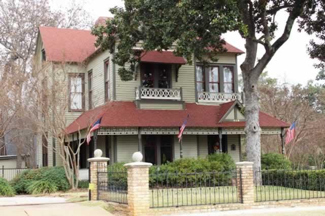 The Smith - Butler House, circa 1890 ... 419 West Houston, Tyler, Texas