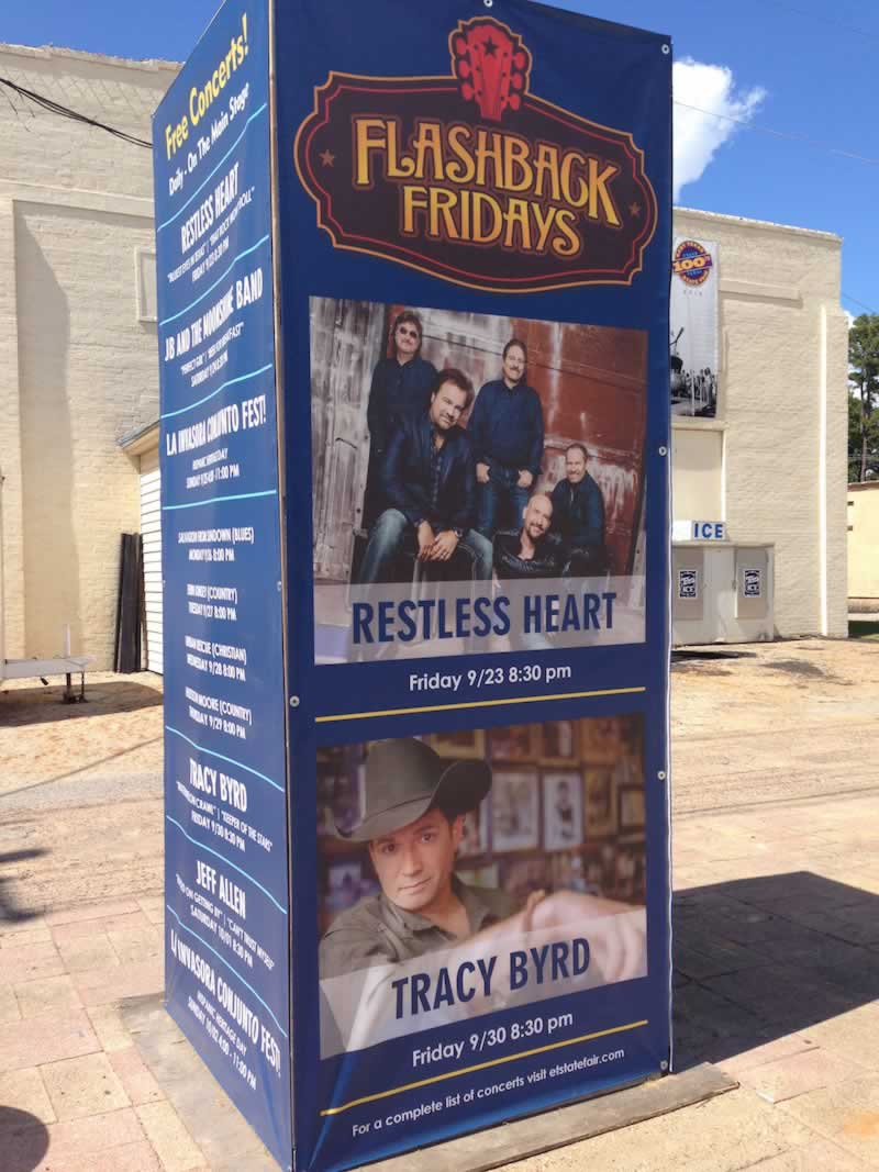 East Texas State Fair entertainment lineup