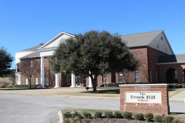 Part of the campus of the Brookhill School, Bullard, Texas