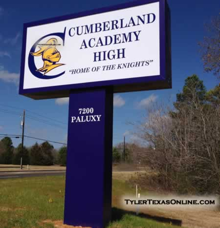 Cumberland Academy High School in Tyler Texas