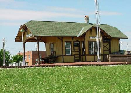 Bertram Texas Train Depot