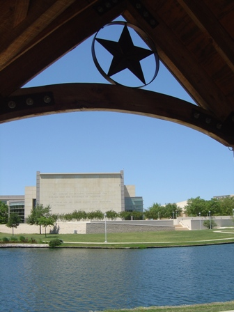George Bush Presidential Library on the campus of Texas A&M University