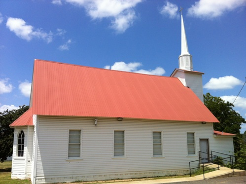 Methodist Church in Mt. Selman, Texas