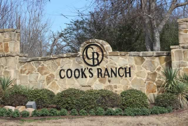 Cook's Ranch development on Old Bullard Road, south of Toll 49
