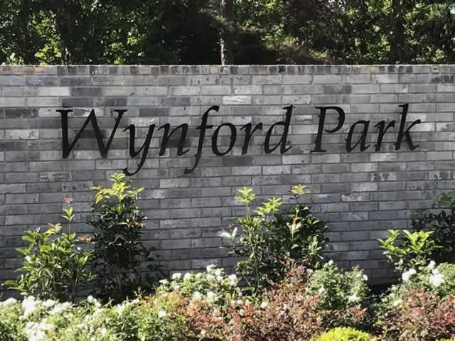 Wynford Park gated subdivision on Old Bullard Road south of Toll-49