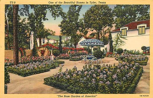 Tyler texas historic postcard collection homes for Home builders in tyler texas