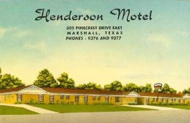 Texas Auto Connection >> Tyler Texas Historic Postcard Collection: East Texas Motels and Hotels
