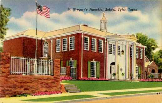 Tyler Texas Historic Postcard Collection Churches