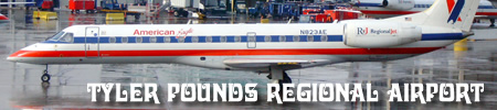 Tyler Pounds Regional Airport Tyr In Tyler Texas