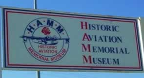 Historic Aviation Memorial Museum, Tyler Pounds Regional Airport, Tyler Texas