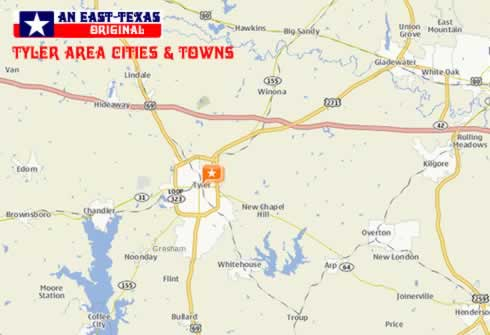 Tyler Texas Newcomers Guide, Maps, Photos, Lakes, Real Estate ...