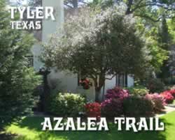 The 57th annual Azalea & Spring Flower Trail will be held from March 25 to April 10, 2016