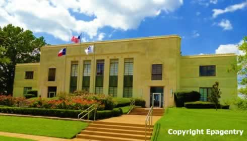 The Tyler City Hall, Downtown Tyler, Texas