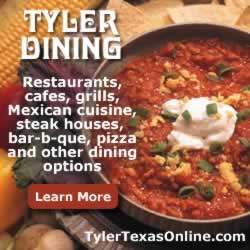 Tyler dining, restaurants, cafes, grills, and other dining options ... learn more now
