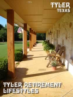 Tyler Texas retirement living, active retirement lifestyles